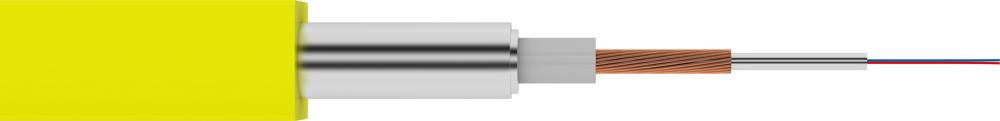 Кабель-датчик скважинный плоский